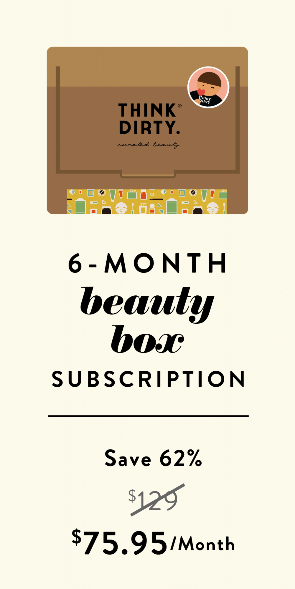 6 month beauty box